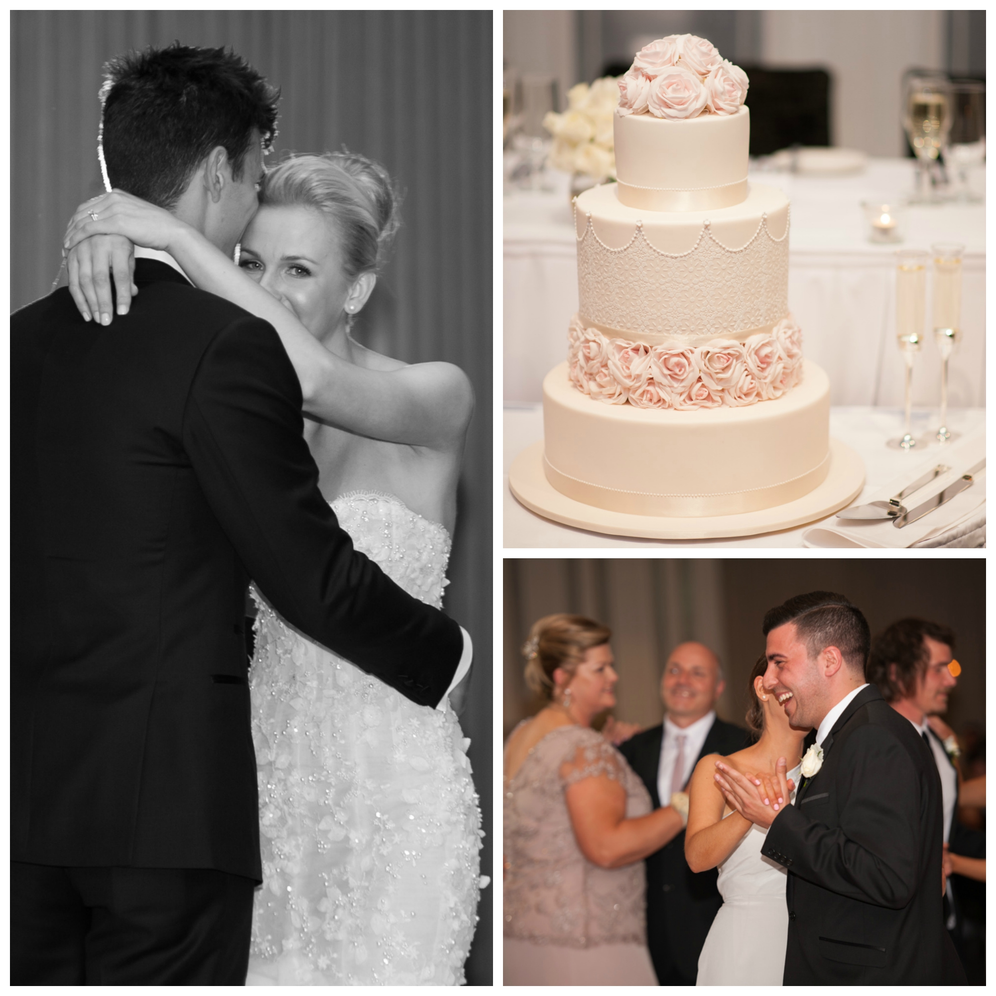 first dance, wedding cake, brighton international, wedding reception, mornington peninsula wedding photographer