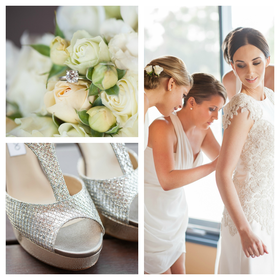 jimmy choo, stillwater at crittenden villa, bridal preparations, catherine r couture