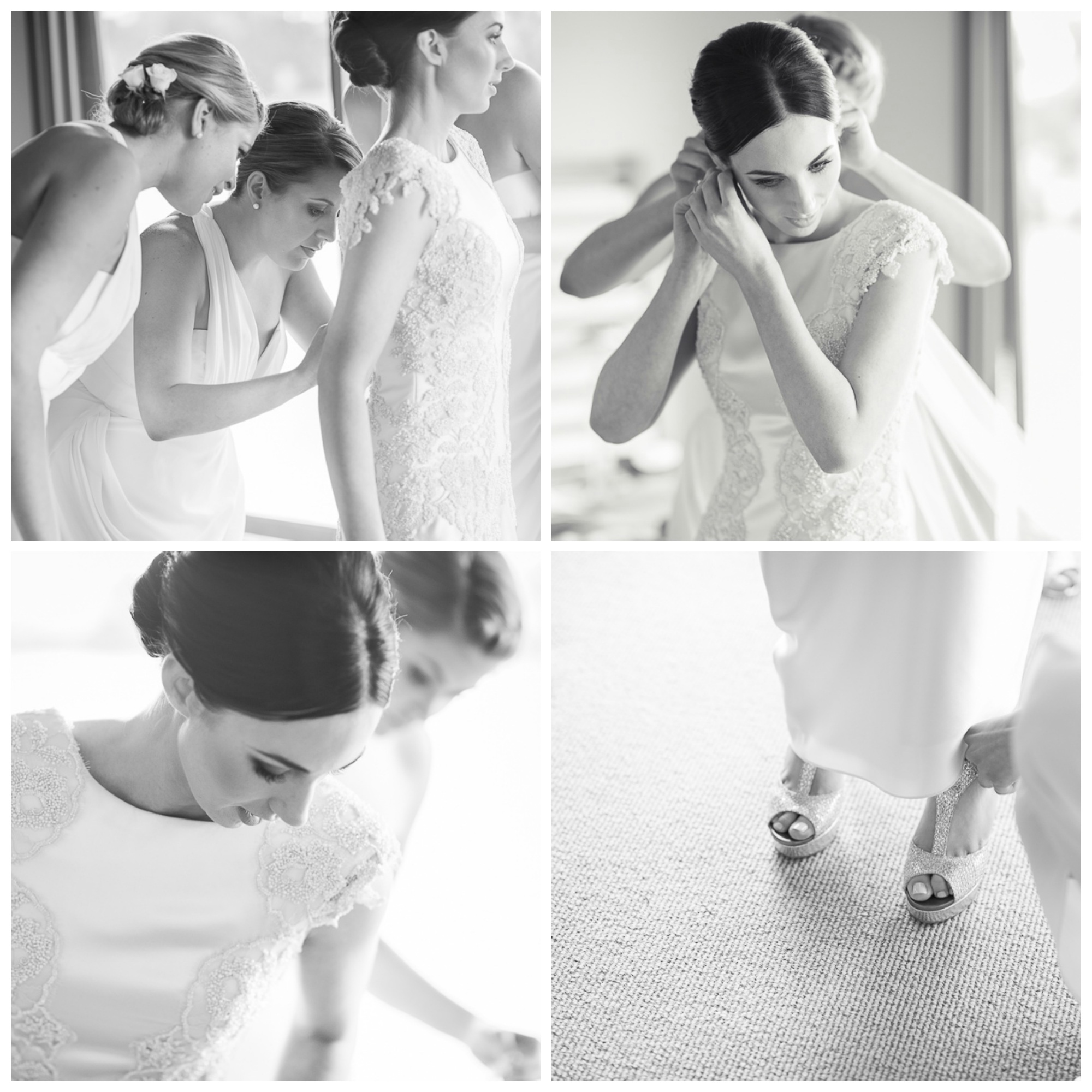 bride getting ready, stillwater villas, mornington peninsula wedding photographer, catherine r couture