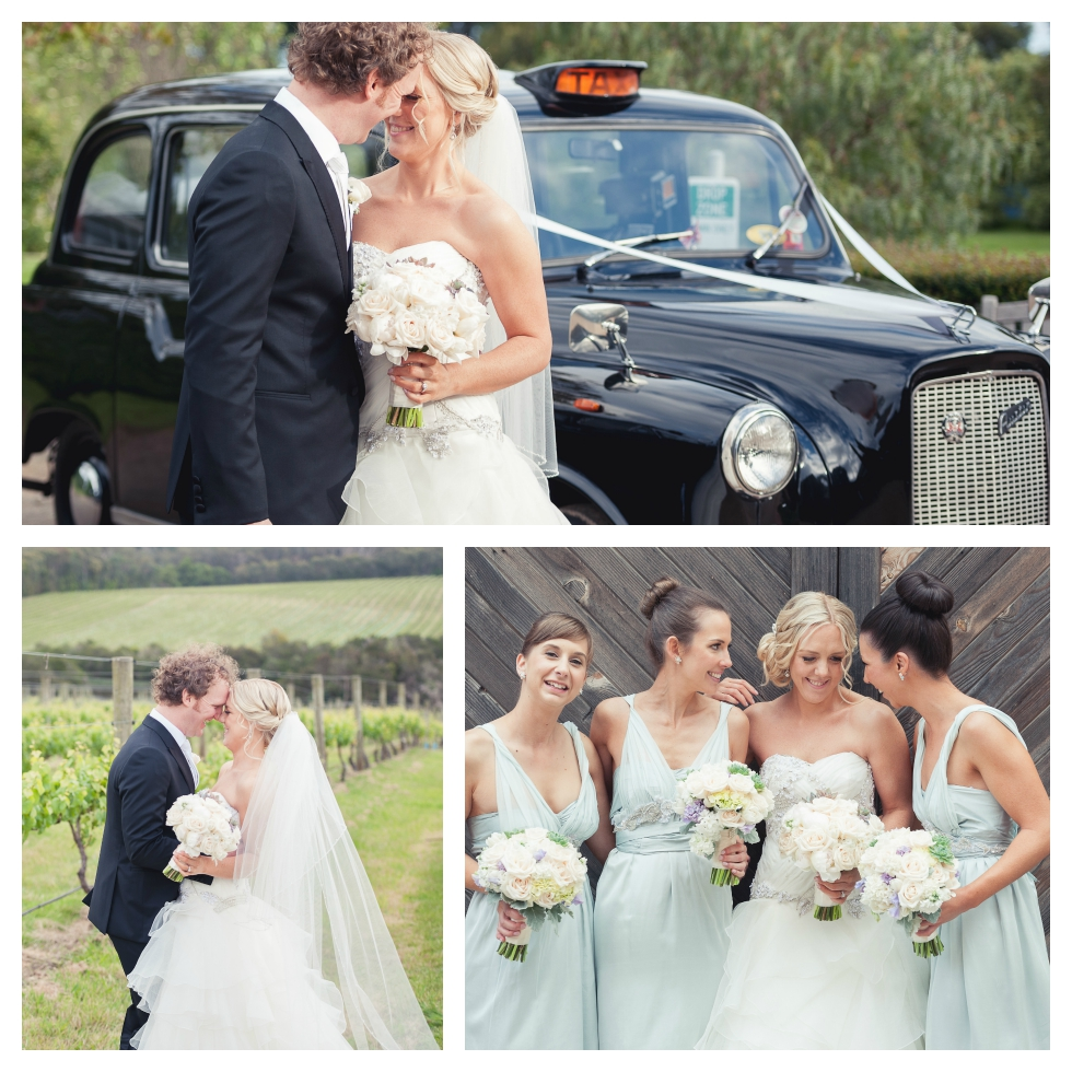 english cab bridal car, melbourne wedding photographer