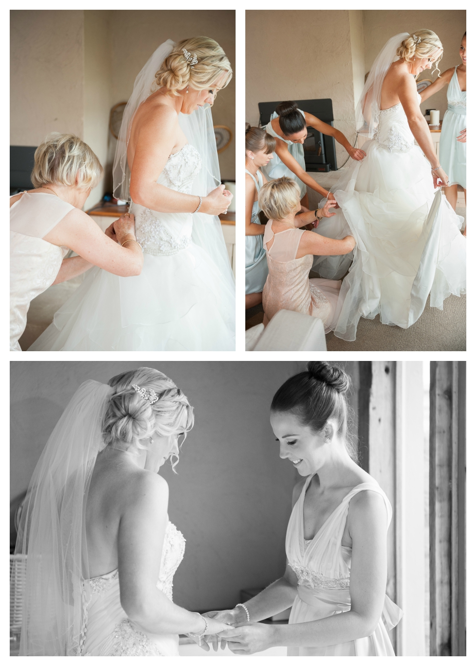 bridal preparation, willow creek wedding, tussie mussie vineyard