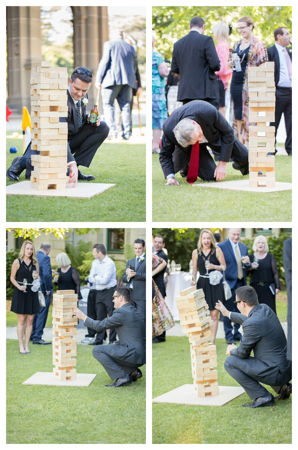 lawn games, wedding games, melbourne wedding photography