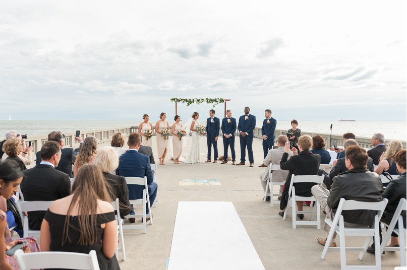 elwood pier wedding, melbounre wedding photographer