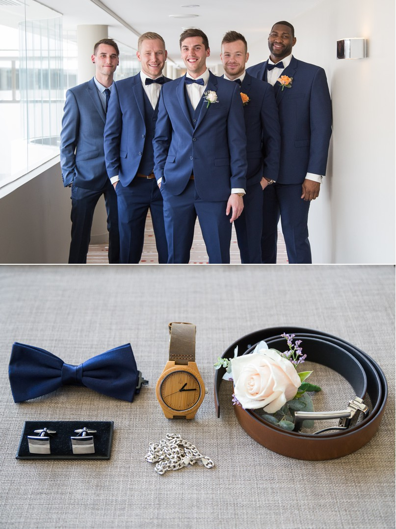 groom accessories, st kilda wedding