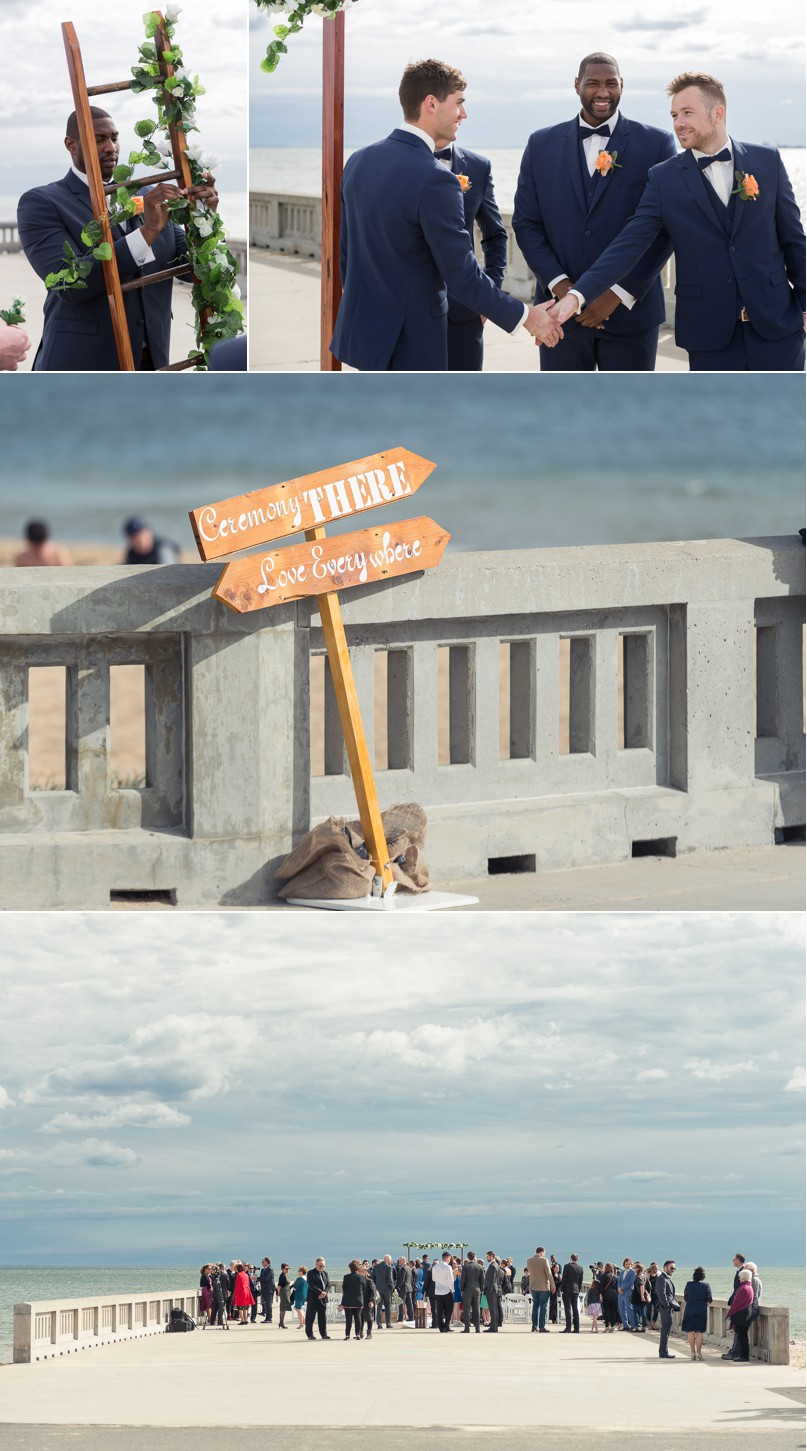 elwood pier, elwood wedding, st kilda wedding photographer