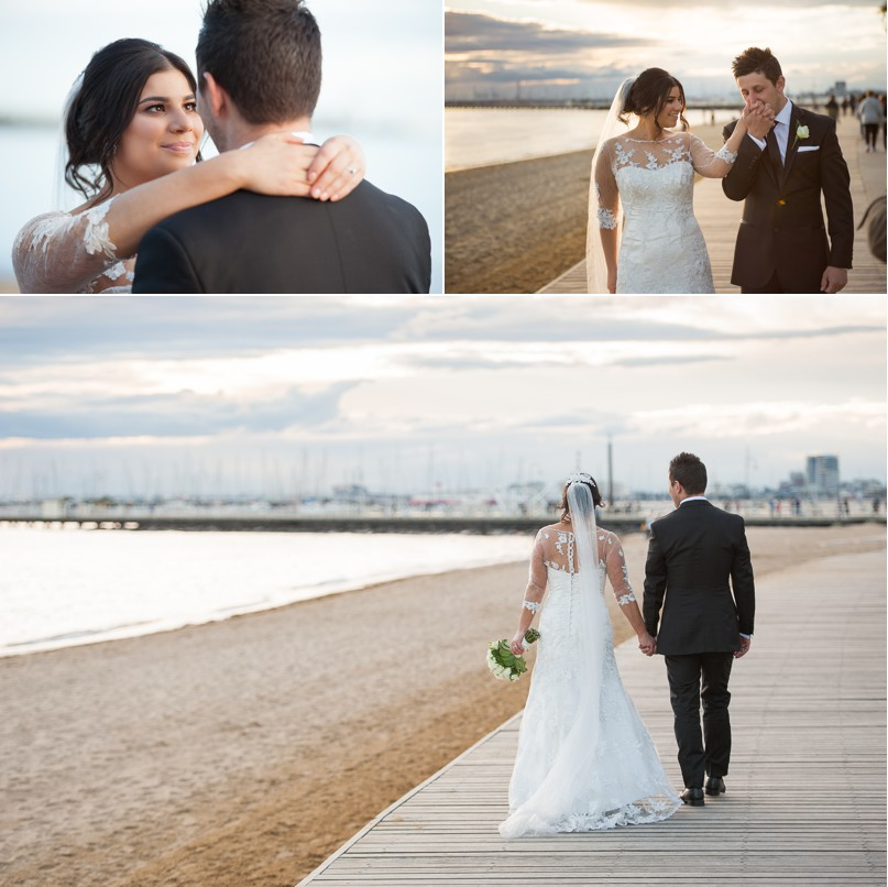 st kilda wedding photographer, milk photography, melbourne wedding photography